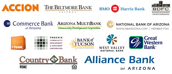 Arizona Accelerator Funding Partner Logos